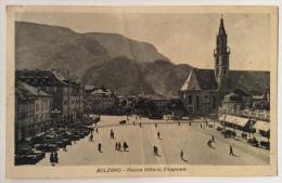 Bolzano Piazza Vittorio Emanuele Spedita Nel 1940 Formato Piccolo - Bolzano (Bozen)