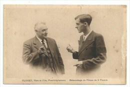 50  Villedieu Les Poèles  - CLOUET Père Et Fils -  Prestidigitateurs - Escamotage De Pièces De 5 Francs - Berufe