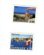 Lot De 2 Timbres DANMARK DANEMARK Neufs Xx - Danemark