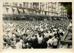 Politique - Algerie  Photo Evenements D´alger Mai - Juin 1958 GENERAL DE GAULLE  ( Generaux ) - Ereignisse
