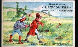 CHROMO, CHICOREE A L´ECOLIERE ( LEROUX ), N°2 COMME ILS SONT BEAUX - Autres