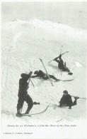 05 - Skieurs Du 159° D'infanterie, Arrivée Des élèves Au Bas D'une Pente - Non Classés