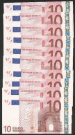 "Lot 10 Concecutive Numbers Greece  ""Y"" 10  EURO GEM UNC! DUINSEBERG Signature!!  ""Y""   Printer  N001G1 Extr.rare! - EURO"