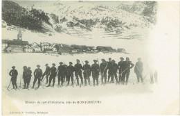 05 - Skieurs Du 159° D'infanterie, Près De Montgenèvre - Non Classés