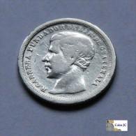 Guatemala - 1/2 Real - 1868 - Guatemala