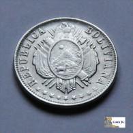 Bolivia - 20 Cents - 1882 - Bolivia