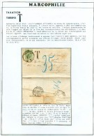 N°30 - 10 Centimes Vert, Obl. Sc HASSELT S/L. Du 11 Juillet 1876 Vers Cologne Et Insuffisamment Affranchie + Griffe ´T´ - 1869-1883 Leopold II