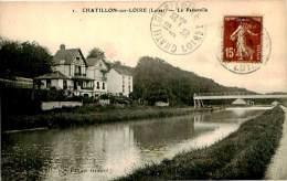Belle  Carte    -  Chatillon Sur Loire - La Passerelle                            C416 - Chatillon Sur Loire