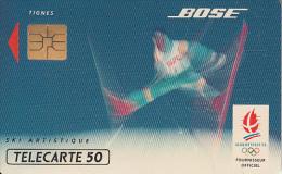 FRANCE - BOSE 9/Ski Artistique, Albertville 1992 Winter Olympics, 12/91, Used - Jeux Olympiques