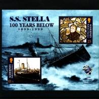 ALDERNEY - 1999  S.S.  STELLA  MS  MINT NH - Alderney