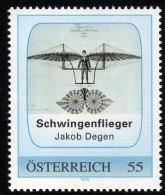 ÖSTERREICH 2008 ** Schwingerflieger / Jakob DEGEN - PM Personalized Stamps MNH - Vliegtuigen