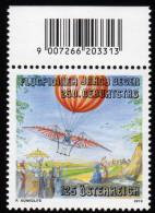 ÖSTERREICH 2010 ** 250.Geburtstag Jakob DEGEN / Flugpionier - MNH - Vliegtuigen