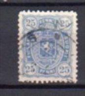 FINLANDE     Oblitérés    Y. Et T.   N° 24      Cote: 3,75 Euros - 1856-1917 Administration Russe