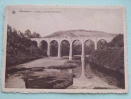 Le Viaduc Vu Du Pont De Conques / Anno 19?? ( Zie Foto Voor Details ) !! - Herbeumont