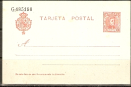 1904 ENTERO POSTAL EDIFIL  45** - 1850-1931