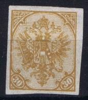 Österreichisch- Bosnien Und Herzegowina 1900 Mi Nr 18 U  MH/*