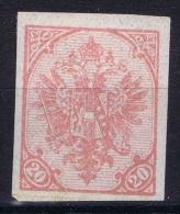 Österreichisch- Bosnien Und Herzegowina 1900 Mi Nr 16 U  MH/*