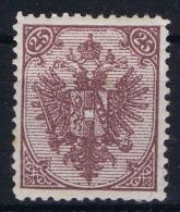 Österreichisch- Bosnien Und Herzegowina  Mi Nr 7 G Steindruck Perfo 12,50 MH/* Small Gum Fold