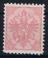 Österreichisch- Bosnien Und Herzegowina  Mi Nr 16 B , Yv Nr 16a Perfo 10,50 Signed BRUN  MH/*