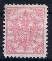 Österreichisch- Bosnien Und Herzegowina  Mi Nr 16 B , Yv Nr 16a Perfo 10,50  MNH/**