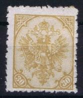 Österreichisch- Bosnien Und Herzegowina  Mi Nr 18 , Yv Nr 18 MH/*
