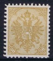 Österreichisch- Bosnien Und Herzegowina  Mi Nr 18 B , Yv Nr 18 A    Perfo 10,50  MH/* - Ungebraucht