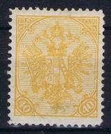 Österreichisch- Bosnien Und Herzegowina  Mi Nr 19 , Yv Nr 19    Perfo 12,50  MH/* - Ungebraucht