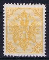 Österreichisch- Bosnien Und Herzegowina  Mi Nr 19 , Yv Nr 19    Perfo 12,50  MH/* - 1850-1918 Imperium
