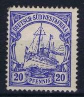 Deutsch Südwestafrika: 1901 Mi Nr 14 MH/*   Yv 16 - Kolonie: Deutsch-Südwestafrika
