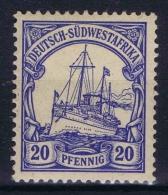 Deutsch Südwestafrika: 1901 Mi Nr 14 MH/*   Yv 16