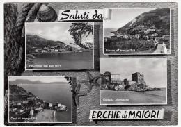 SALUTI DA ERCHIE DI MAIORI - SALERNO - 1961 - Salerno
