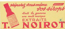 BU 1336 / BUVARD    SIROPS    EXTRAITS T. NOIROT