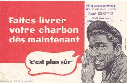 BU 1356 / BUVARD     FAITES LIVRER VOTRE CHARBON DES MAINTENANT   RENE CHESNAIS  ALENCON - Gas, Garage, Oil
