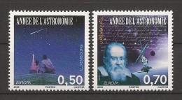 "LUXEMBURG /LUXEMBURGO // LUXEMBOURG - EUROPA 2009  - TEMA  ""ASTRONOMIA"" - SERIE De 2 V.  - DENTADA  (PERFORATED) - 2009"