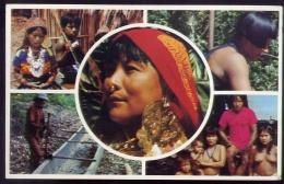 Indios Kunas De Las Islas De San Blas Y Chocoes De La Provincia De Darien R. De Panama - Formato Piccolo Viaggiata - India