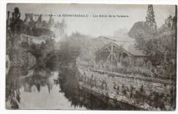 LA ROCHEFOUCAULD - N° 1546 - LES BORDS DE LA TARDOIRE AVEC CHATEAU - Autres Communes