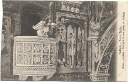 I2017 Subiaco (Roma) - Sacro Speco - Chiesa Superiore - Dettaglio Di Una Parete Col Pulpito / Non Viaggiata - Italia