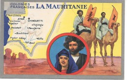 Colonies Françaises - LA MAURITANIE - Mauritanie