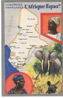 Colonies Françaises - L'AFRIQUE EQUATORIALE - Cartes Postales