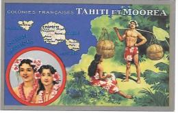 Colonies Françaises - TAHITI ET MOOREA - Tahiti