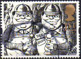 "GREAT BRITAIN 1993 Greetings Stamps. ""Gift Giving"": 1st NVI Tweedledum And Tweedledee - Oblitérés"