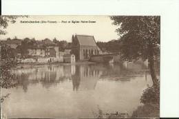FR918   --  SAINT JUNIEN ( Hte - Vienne )   --  PONT ET EGLISE NOTRE - DAME