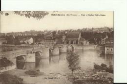 FR919   --  SAINT JUNIEN ( Hte - Vienne )   --  PONT ET EGLISE NOTRE - DAME