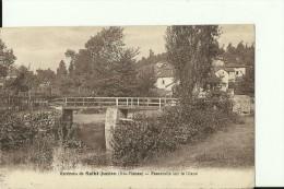 FR921   --  SAINT JUNIEN ( Hte - Vienne )   --  PASSERELLE SUR LA GLANE