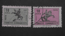 Turkey - 1968 - Mi:2113-4 O - Look Scan - 1921-... République