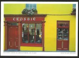 IRELAND Ennistymon (card 11 X 15,5 Cm) Small Store CROSBIE Co. Clare  2011 - Clare