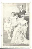 Cp, Famille Royale, La Famille Royale De Belgique - Familias Reales