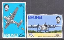 BRUNEI   184-5  **   AIR FORCE MUSEUM - Brunei (...-1984)