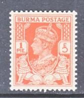 BR  B URMA   18 A    ** - Burma (...-1947)