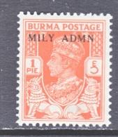 BR  B URMA   35   ** - Burma (...-1947)